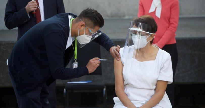 Sentimiento sobre las vacunas contra covid Mexico